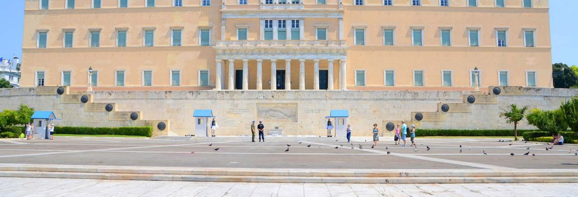 Parliament of the Greeks, Athens, Greece