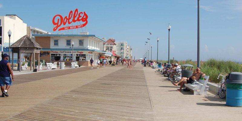North Boardwalk,Rehoboth Beach, Delaware, USA