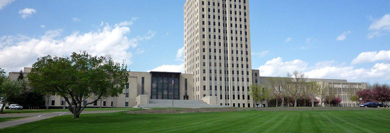State Capitol Building, Bismarck,North Dakota, USA