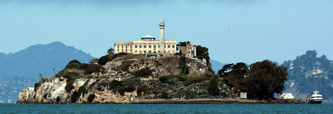 Alcatraz Island, San Francisco, California, USA