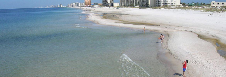 Beach at Panama City, Panama City Beach,Florida, USA