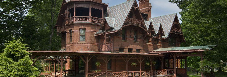 Mark Twain House & Museum,Hartford,Connecticut, USA