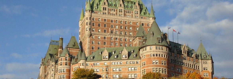 Fairmont Le Château Frontenac, Quebec, QC, Canada