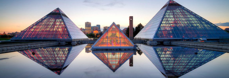 Muttart Conservatory,Edmonton, AB, Canada