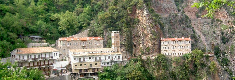 Proussos Monastery, Karpenisi, Greece