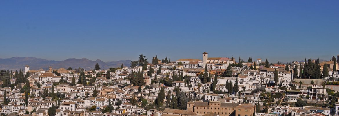 View Point, Albaicín, Granada, Spain