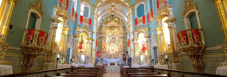 Sao Francisco Church and Convent, Salvador, State of Bahia, Brazil
