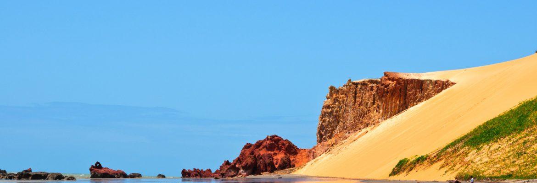 Praia de Canoa Quebrada, Canoa Quebrada State of Ceara, Brazil