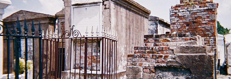 St. Louis Cemetery No. 1, New Orleans,Louisiana, USA