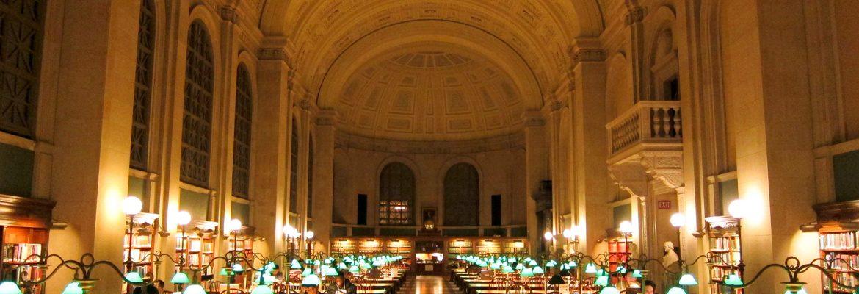Boston Public Library, Boston,Massachusetts, USA