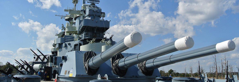 Battleship North Carolina,Wilmington,North Carolina, USA