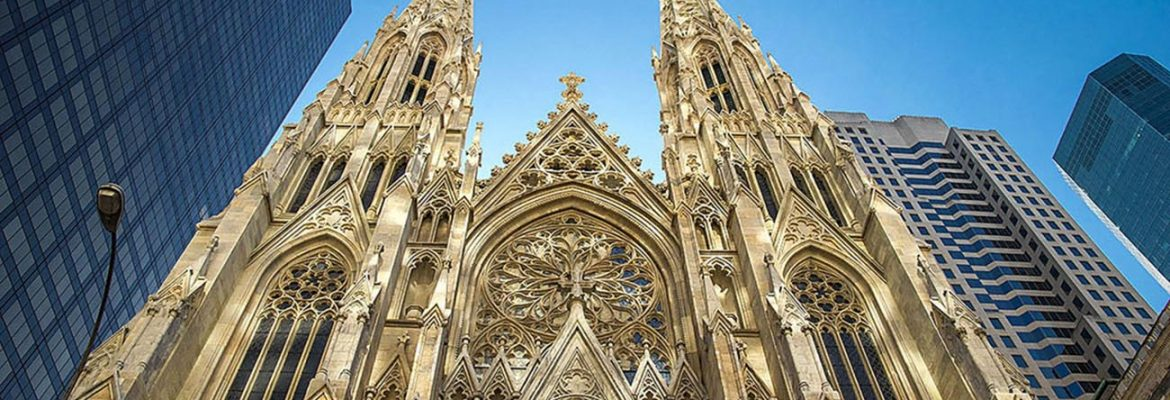 St. Patrick's Cathedral, Manhatten, New York, USA