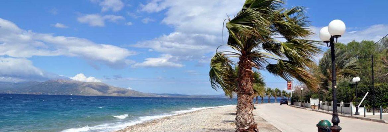 Calamos Beach, Agii Apostoli, Greece