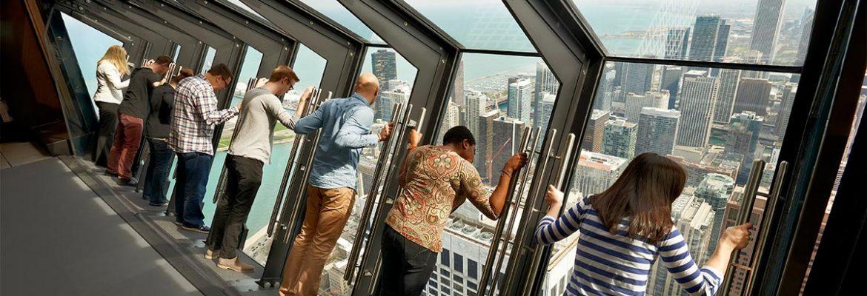360 Chicago Observation Deck, Chicago, Illinois, USA