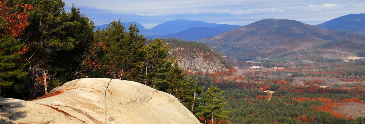 Cathedral Ledge Road, Bartlett, New Hampshire, USA