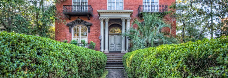 The Mercer Williams House Museum,Savannah,Georgia, USA