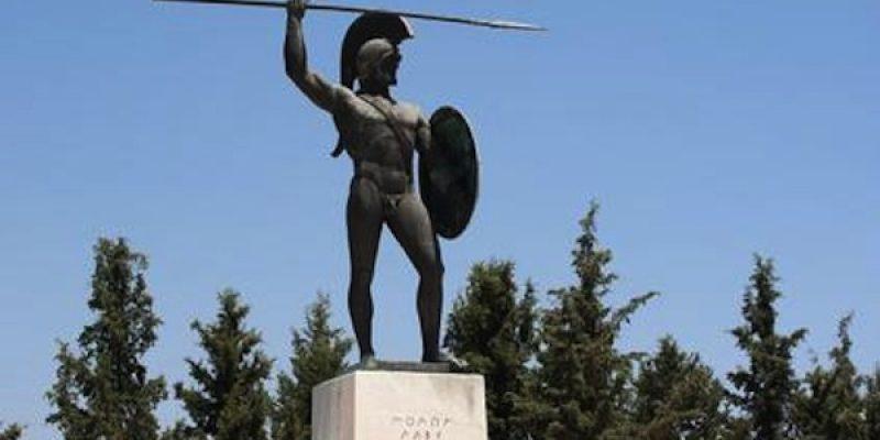 Last Stand of Thermopylae, Lamia, Greece