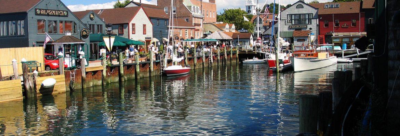 Bowens Wharf, Newport, Rhode Island, USA