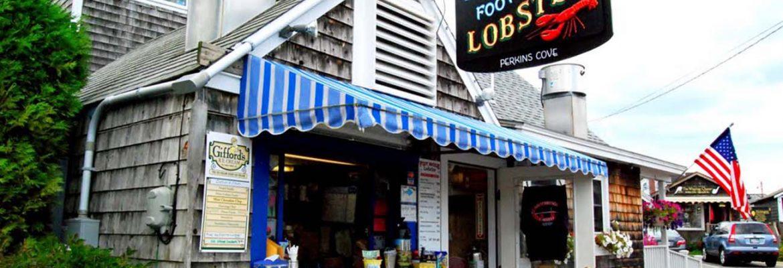 Perkins Cove Lobster Shack,Ogunquit, Maine, USA