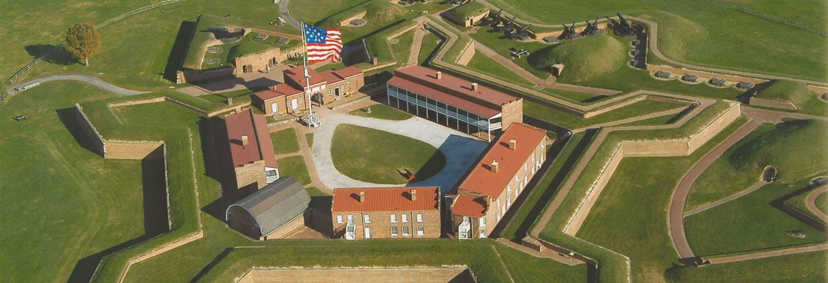 Fort McHenry National Monument and Historic Shrine, Baltimore, Maryland, USA