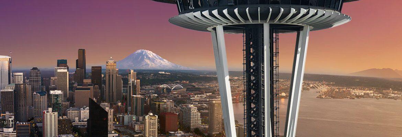 Space Needle, Seattle,Washington, USA