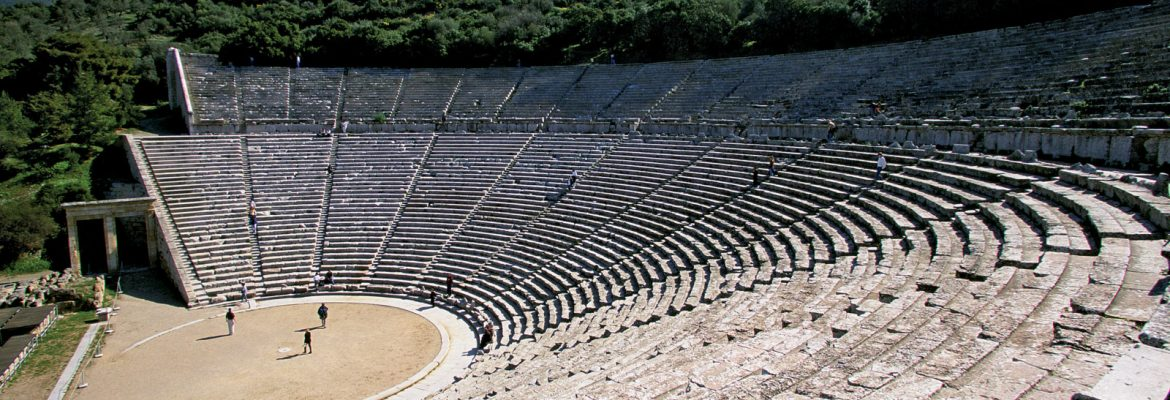 Epidaurus Theatre,  Epidavros, Greece