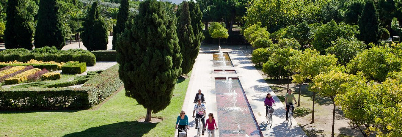 The Turia Gardens, València, Valencia, Spain
