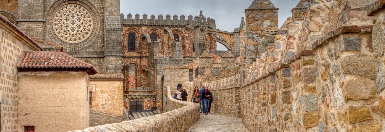 Avila Old Town, Unesco Site, Avila, Spain