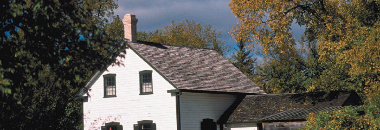 Lieu historique national de la Maison-Riel,Winnipeg, Canada