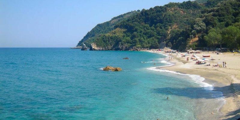 Agioi Saranta Beach, Chorefton, Greece