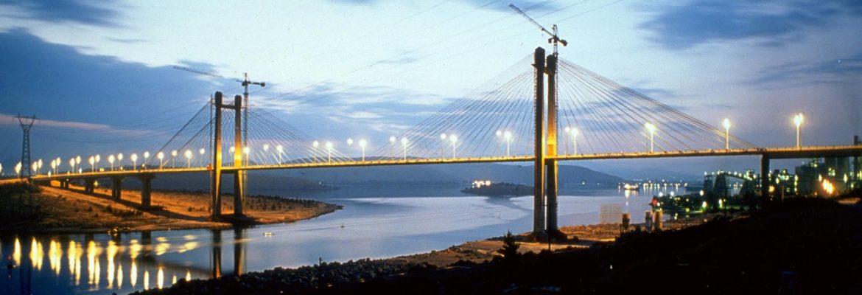 High Bridge Evripos, Greece