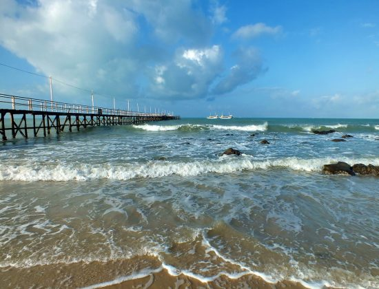 Pier Pirangi do Norte,Pirangi do Norte, State of Rio Grande do Norte, Brazil