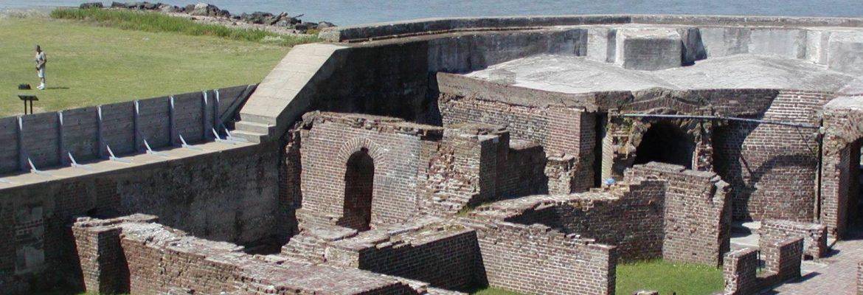 Fort Sumter National Monument,South Carolina, USA