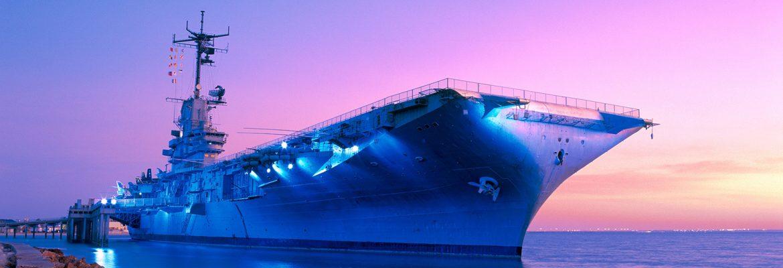 USS Lexignton, Corpus Christi,Texas, USA