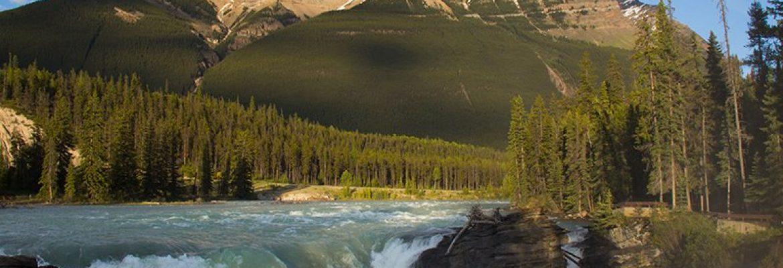 Athabasca Falls, AB, Canada