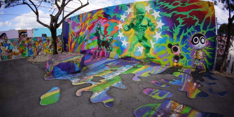 Wynwood Walls,Miami,Florida, USA