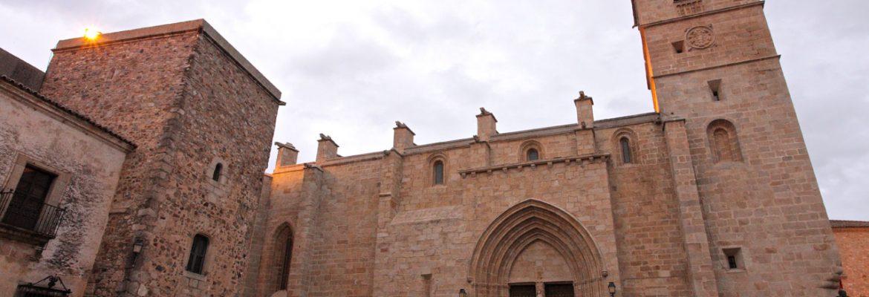 Iglesia Concatedral de Santa María,Cáceres, Spain