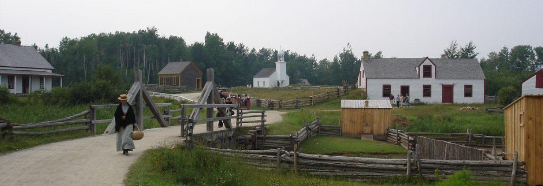 Village Historique Acadien,Bertrand, NB, Canada