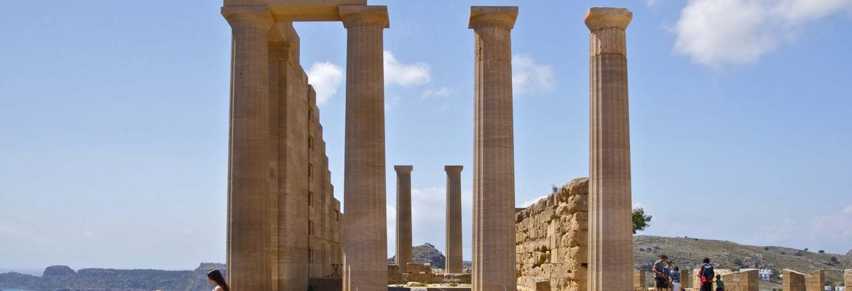 Acropolis of Lindos,Lindos, Greece