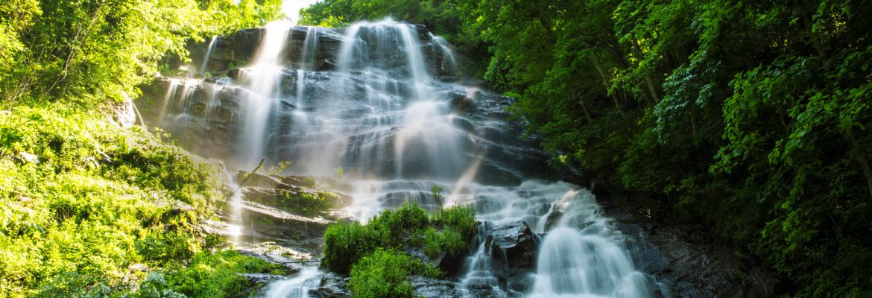 Amicalola Falls State Park and Lodge Visitor Center,Dawsonville,Georgia, USA
