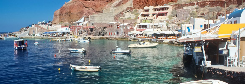 Amoudi Bay,Ormos Ammoudiou, Greece