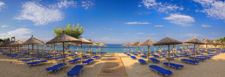 Logomandra Beach. Nikiti, Greece