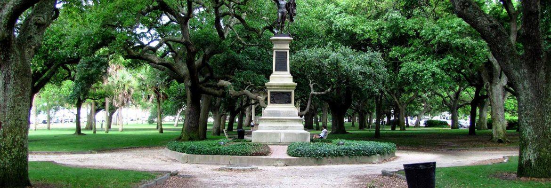 White Point Garden,Charleston,South Carolina, USA