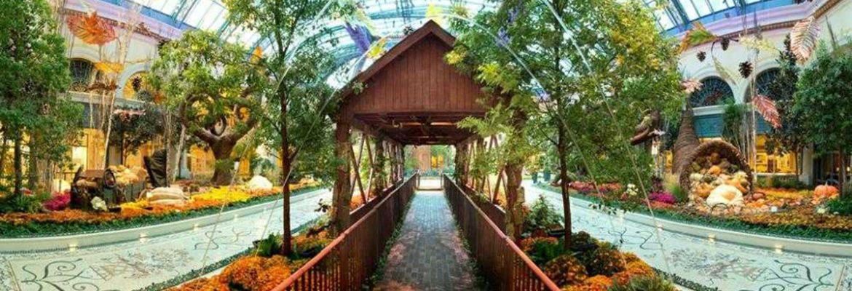 Bellagio Conservatory & Botanical Gardens,Las Vegas,Nevada, USA