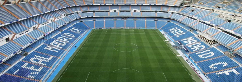 Real Madrid Bernabéu Stadium, Madrid, Spain