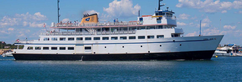 Block Island Ferry, Narragansett, Rhode Island, USA