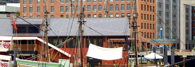 Boston Tea Party Ships & Museum, Boston,Massachusetts, USA