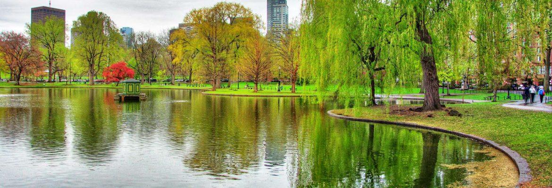 Boston Public Garden, Boston,Massachusetts, USA