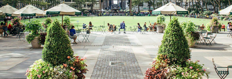 Bryant Park, New York City, New York, USA