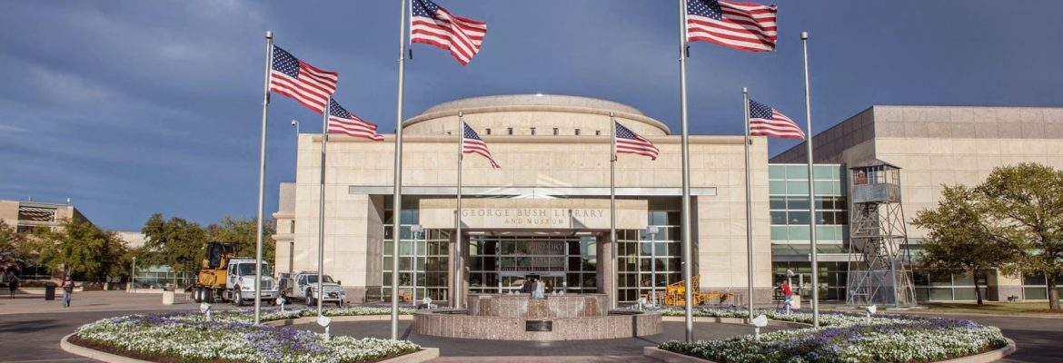 George Bush Presidential Library and Museum, College Station,Texas, USA